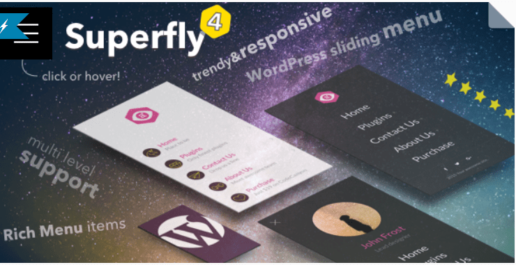 Superfly menu responsive wordpress menu plugin