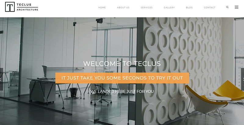 meilleurs thèmes WordPress pour créer un site web de décoration d'intérieure - Teclus