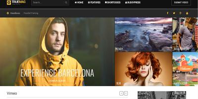 Truemag Theme Wordpress Creer Site Web Vidéo