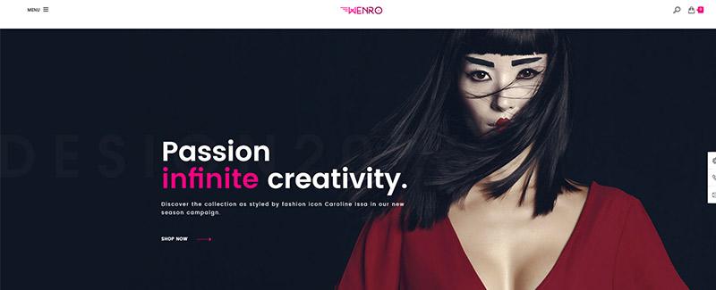 Wenro themes prestashop boutique en ligne vetements