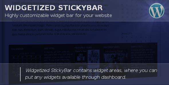 widget bar-untuk-wordpress