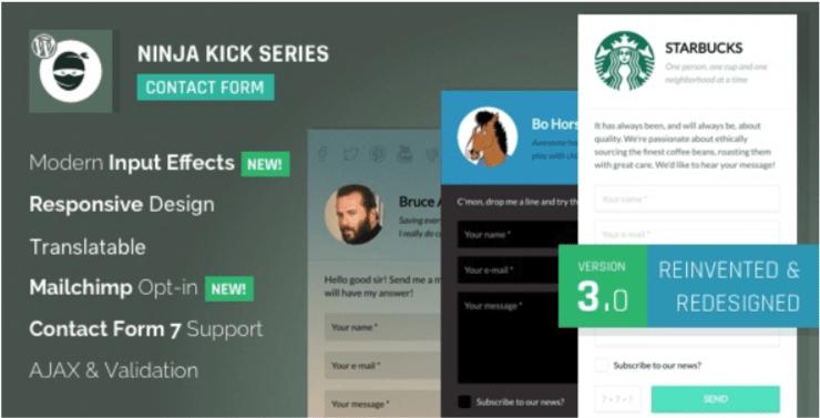 10 plugin WordPress untuk membuat formulir kontak
