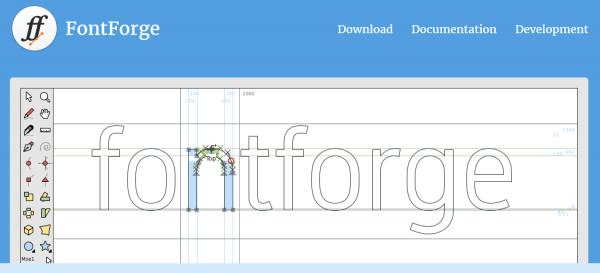 fontforge ferramenta-de-criação-de-fontes