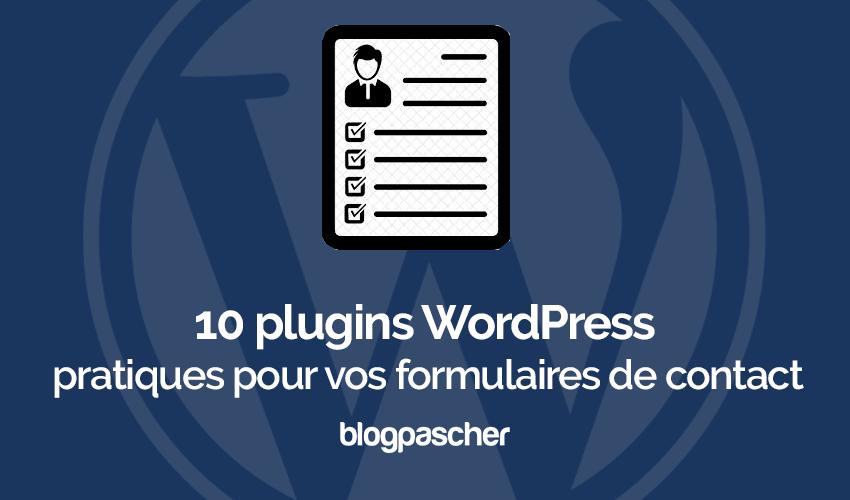 Plugins Wordpress Pratiques Formulaires Contact