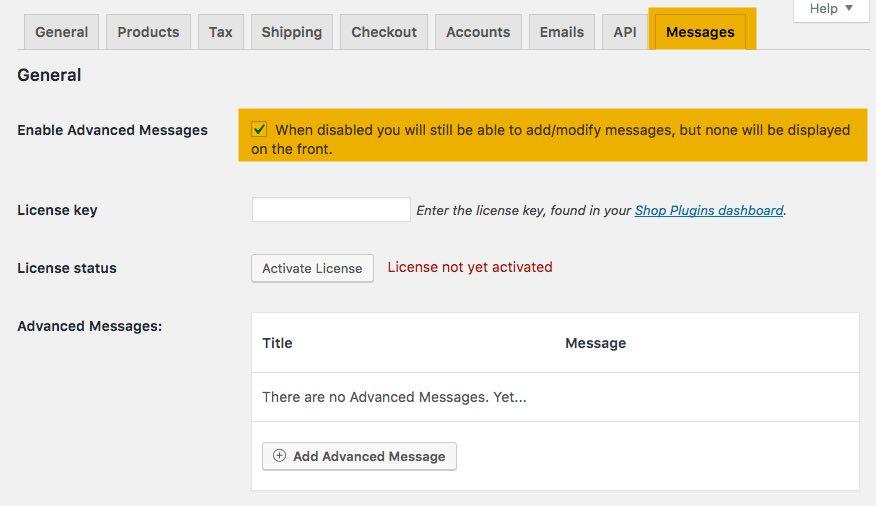 Cómo añadir mensajes personalizados en WooCommerce | BlogPasCher