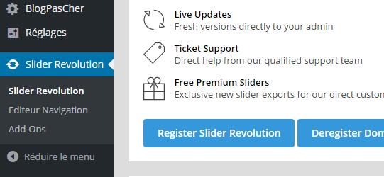 Revolution-slider menu do wordpress-table-to-edge