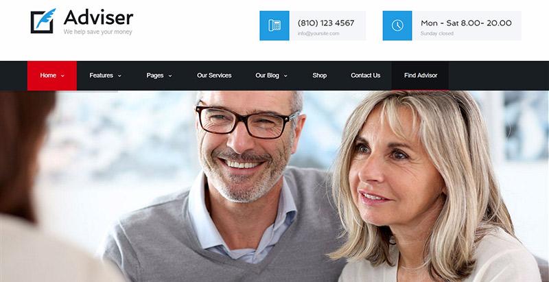 penasihat-10-tema-wordpress-membuat-web-site-kantor akuntan akuntan-compatbilite