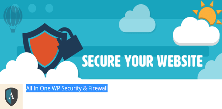 All in one wp security firewall – wordpress plugin