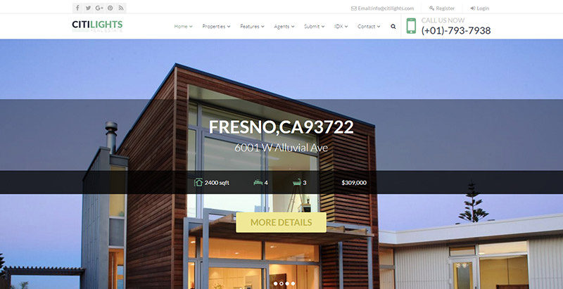 citilights-themes-wordpress-creer-site-web-louer-vendre-maisons-villa-appartement