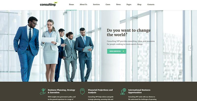 10 Thèmes WordPress Pour Créer Un Site Internet D'entreprise D'assurance