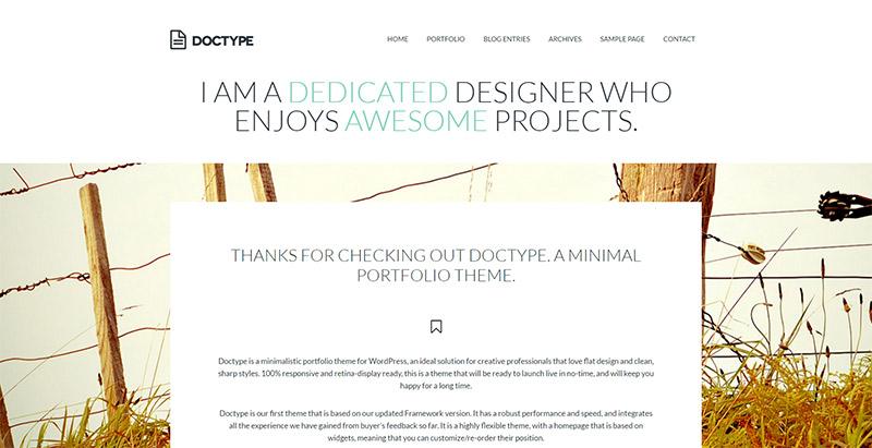 doctype-10-wordpress-tema-besar-membuat-web-site-portofolio