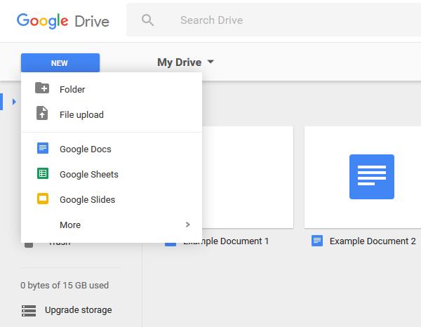google-docs-tableau-de-bord