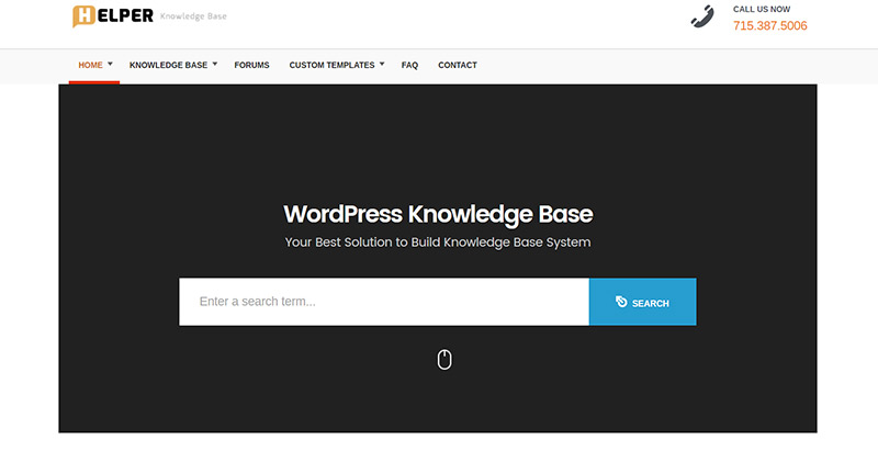 helper-themes-wordpress-creer-site-wiki-support-base-connaissance-faq