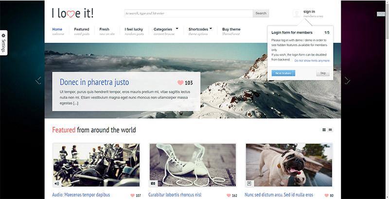 i-love-it-themes-wordpress-creer-site-internet-partage-contenu