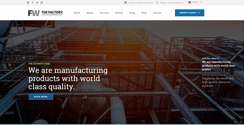 manufacturing-10-themes-wordpress-creer-site-web-entreprise-industrielle