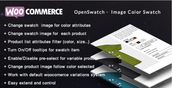Openswatch woocommerce variations image swatch