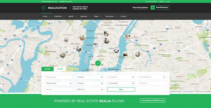 realocation-themes-wordpress-creer-site-web-louer-vendre-maisons-villa-appartement