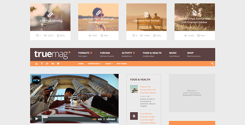 10 WordPress temas para obtener beneficios económicos de su sitio ...