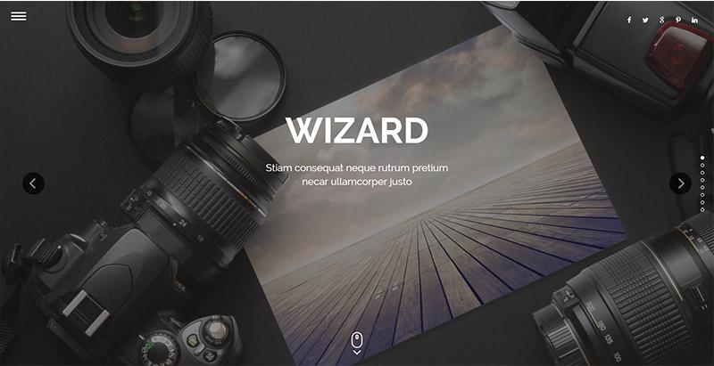 wizard-themes-wordpress-creer-site-internet-photgraphe