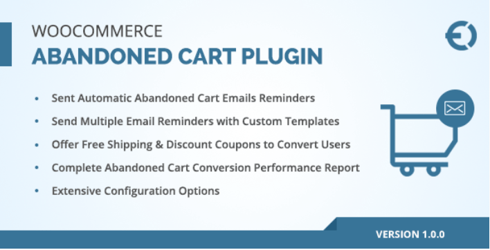 Woocommerce abandoned cart email plugin recover abandoned carts