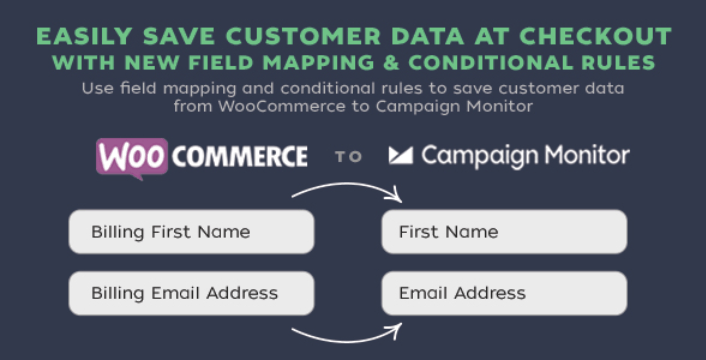 Woocommerce checkout newsletter campaign monitor