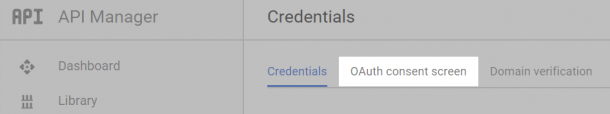 OAuth-экран-оф-согласия WordPress