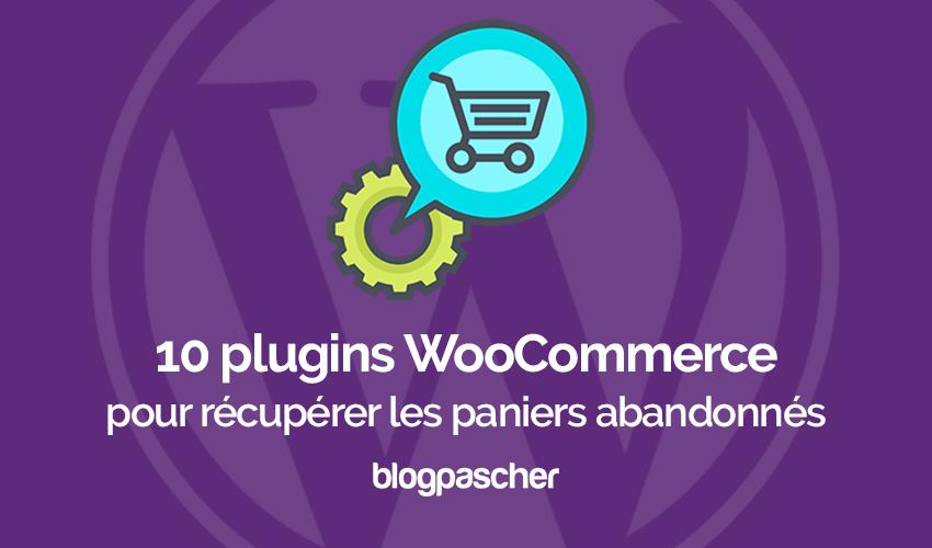 Plugin Wordpress Woocommerce Récupérer Paniers Abandonnés
