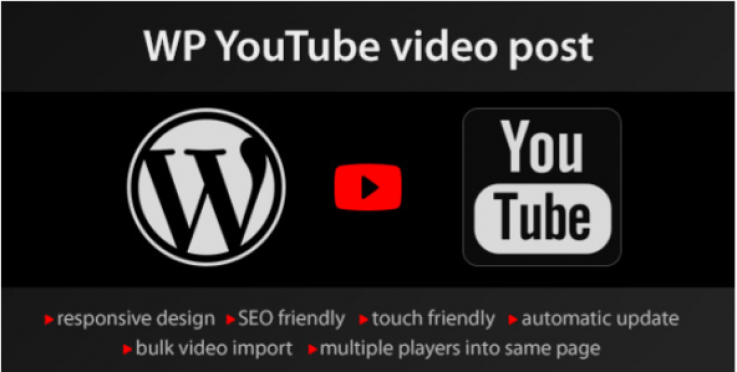 plugins wordpress importer exporter donnees YouTube video import e1536397823508