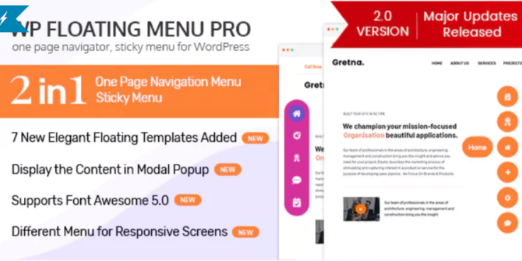 Wp floating menu pro
