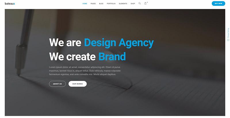 Лодка 10-темы-WordPress собственного минимализма создать-сайт-блог-бизнеса
