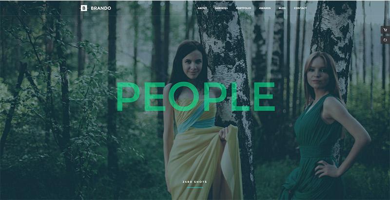 Brando themes wordpress polyvalents creer site web multipurpose
