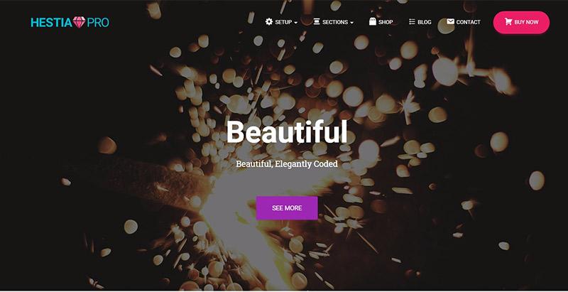 Hestia pro themes wordpress creer site web entreprise