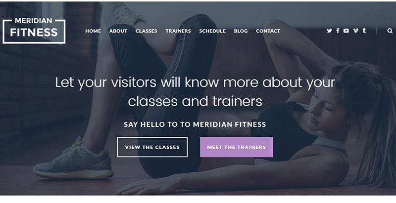 10 Temas de WordPress para crear un sitio web de club deportivo ...
