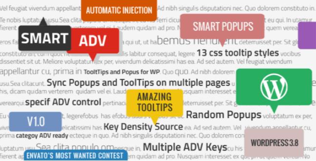 Smartadv wp için afişler ve açılır pencereler araç ipuçları