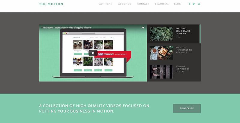 10 temas de WordPress limpio, minimalista para un sitio web ...