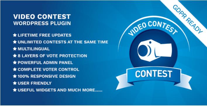 plugins WordPress pour organiser des concours sur votre site web - Video contest