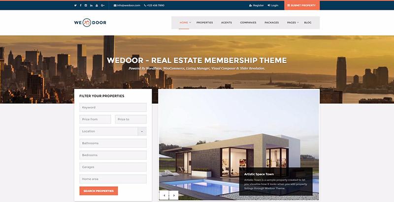 Th mes wordpress pour cr er un site web de vente de for Sites web pour concevoir des maisons gratuitement