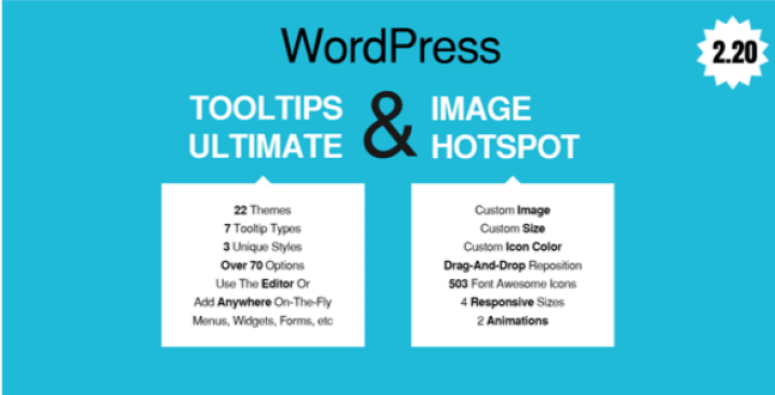 Wordpress tooltips ultimo hotspot dell'immagine