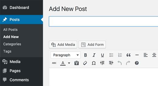 Ajouter un formulaire wpforms sur wordpress