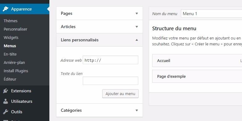 Ligações-wordpress-personaliza