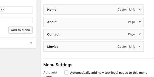 links de personaliza-in-the-menu de