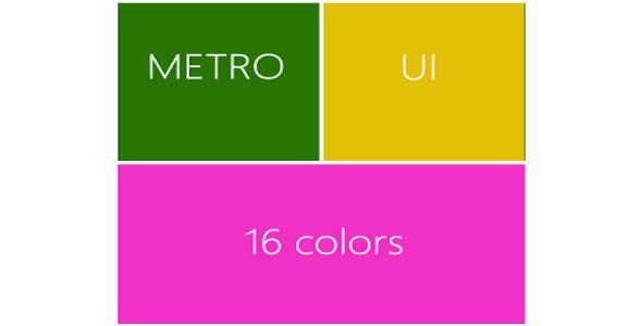 Metro ui homepage plugin magento pour page accueil