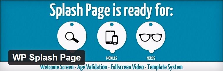 Plugin wp da página inicial
