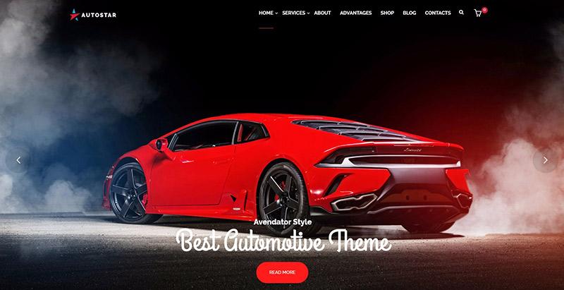 10 thèmes WordPress pour créer un site Web de vente de voiture