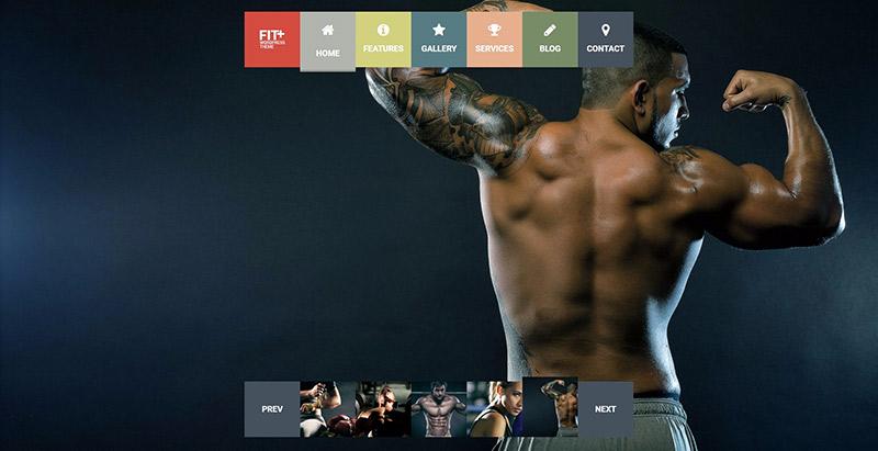 Fit themes wordpress creer site web club fitness