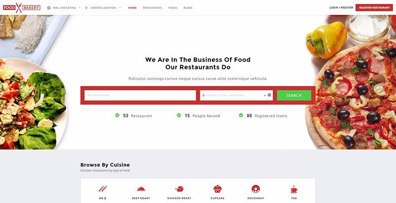 10 Temas de WordPress para crear un sitio web de restaurante ...