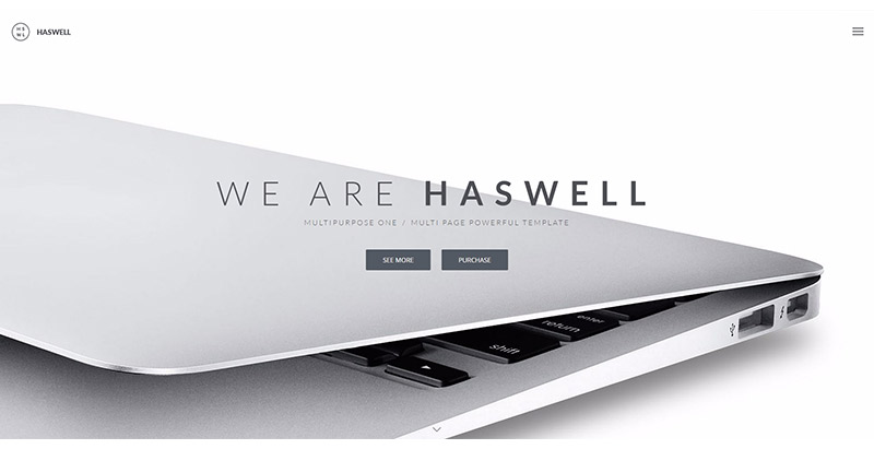 Haswell themes wordpress creer site web agence marketing 1