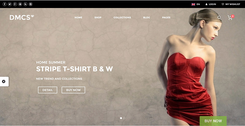 The dmcs themes wordpress creer site web ecommerce woocommerce