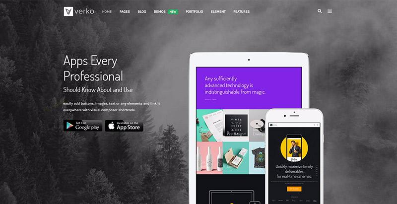 Verko themes wordpress creer site web agence marketing 1