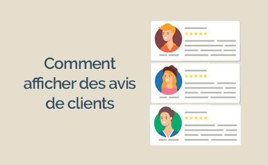 Come visualizzare le recensioni dei clienti su wordpress pascher
